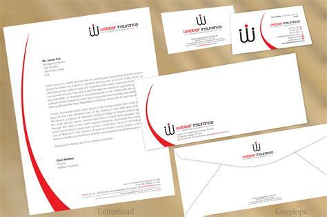 free modern business letterhead template modern professional letterhead design for webber