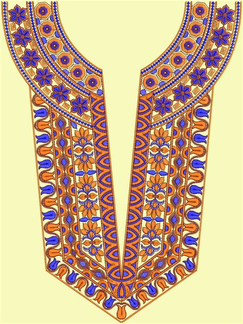 neck design in embroidery latest a z neck embroidery designs embdesigntube