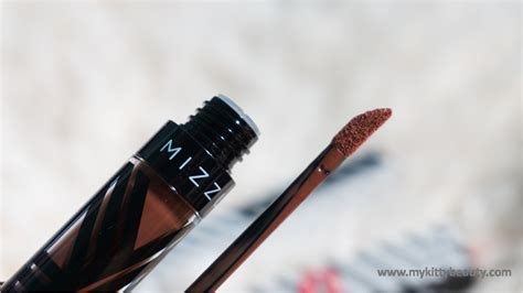 Mizzu Velvet Matte Valipcious by Review Mizzu Valipcious Velvet Matte In Shade Choco Melt