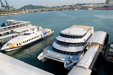ferry harbour bay to tanah merah scc harbourfront singapore cruise centre