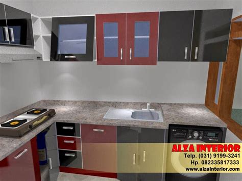 kitchen set kuat berkualitas malang alzainteriorcom