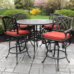 bar height patio sets outdoor patio bar set patio design ideas