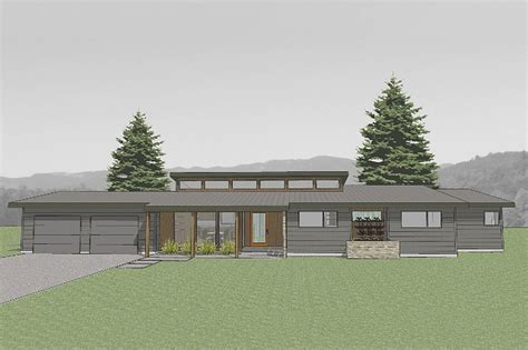 modern houseplans modern style house plan 3 beds 2 baths 1986 sq ft plan 519 2