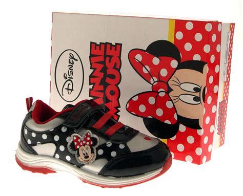 Minnie Flat White disney minnie mouse trainers flat pumps childrens