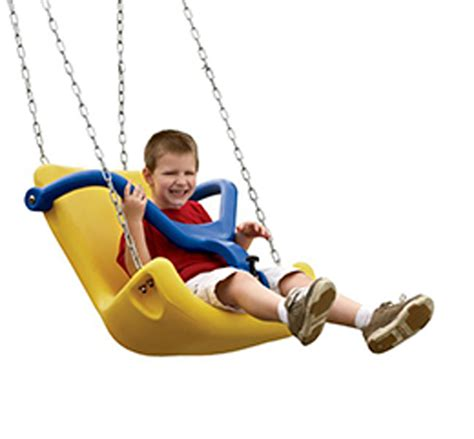 baby swing for adults unlimited play universally accessible playgrounds