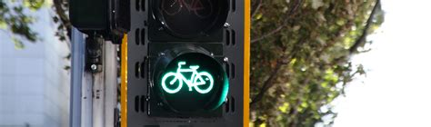 bicycle signals national association  city transportation officials