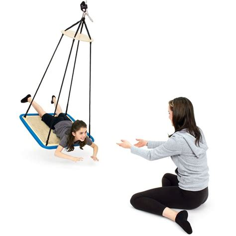 platform swing therapy advantage line platform swing sensory integration