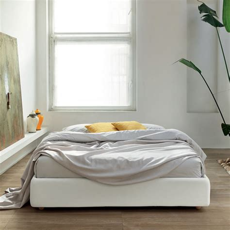 Beds Without Frames Fabric Bed Base Without Headboard