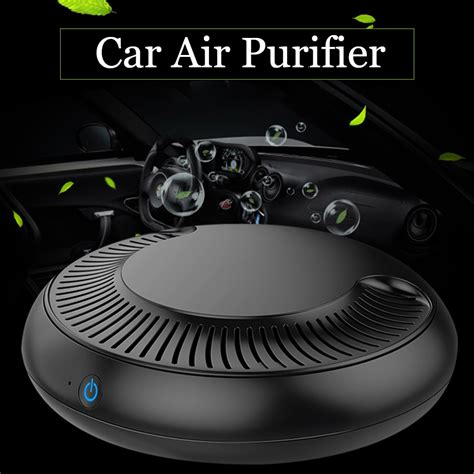 car air portable purifier for cleaner air with aromatherapy function yoibo