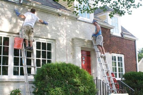 Exterior Painted Brick Painted, Exterior Painted Brick