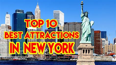 top attractions in nyc