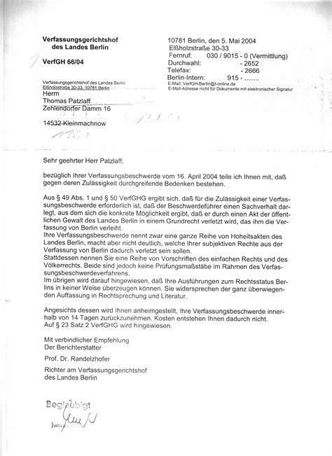 Offizieller Brief Mit Anlagen verdienstkonzept 3
