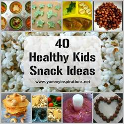 40 healthy kids snack ideas yummy inspirations