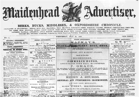 A News Paper - file maidenhead advertiser newspaper edition jpg