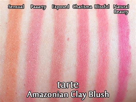Tarte Amazonian Clay Lipstick tarte amazonian clay blushes my collection review
