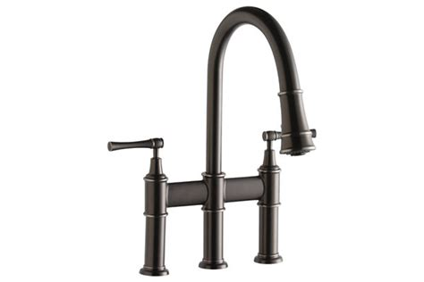 famous bridge kitchen faucet with pull down spray best elkay everyday faucets pot fillers and hand sprays