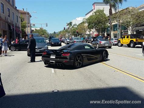 koenigsegg california koenigsegg agera spotted in beverly hills california on