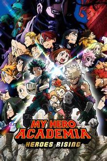 hero academia heroes rising
