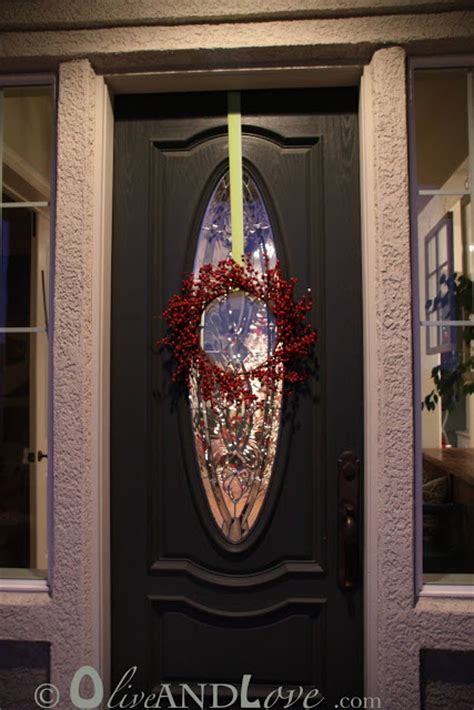 wreath hook for front door olive and how to hang a wreath on your front door