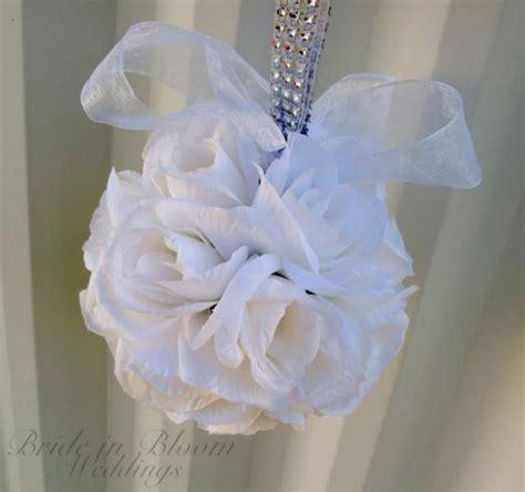 Wedding Aisle Marker Decoration by Wedding Flower Balls Flower Pomander Wedding