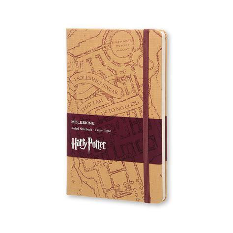 moleskine sede harry potter limited edition notebook marauder s map
