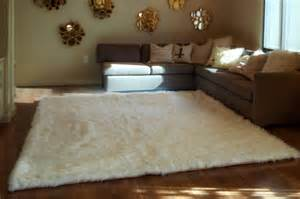 Dining Room Rugs 8 X 10 by This Fluffy White Rug Will Be A Focal Point Of Your Room