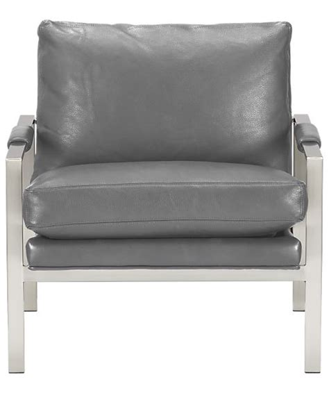 Crate And Barrel Milo Chair by Mid Century Lounge Chair Milo Classic Leather Lounge