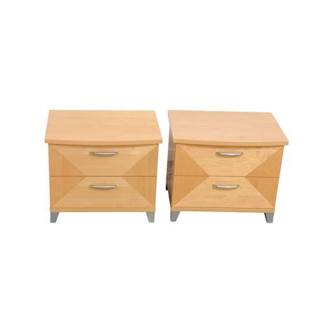 74% OFF   Antique Style White End Tables / Tables
