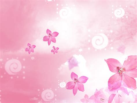 Beautiful Flowers Backgrounds For Powerpoint Flower Ppt Flower Background For Powerpoint