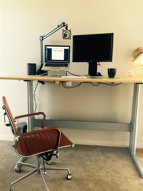 Diy Motorized Desk 100 Diy Motorized Sit Stand Desk Desks Ikea Height Adjustable Desk Ergotron Workfit Sit