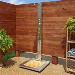 outdoor pool shower kit outdoor showers pool showers shower kits signature