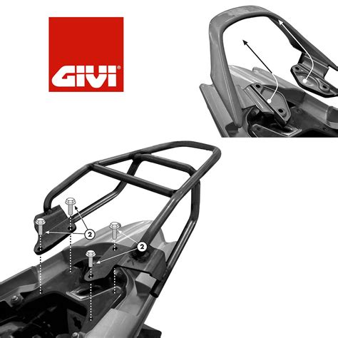 Motorcycle Luggage Racks Uk by Honda Cbf 125 2009 2014 Motorcycle Givi Luggage Rack