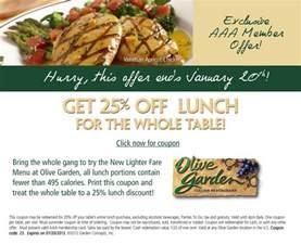 25 lunch olive garden