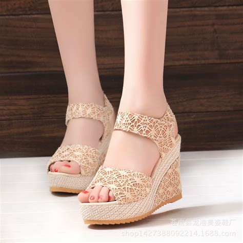 Jr Summer High Heel Sepatu Wanita Cantik Sepatu Import Murah shoes 2016 new design summer shoes