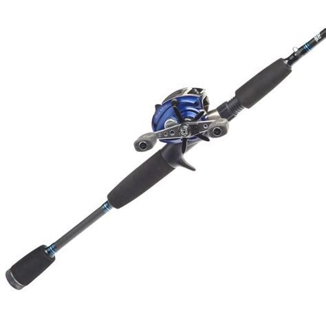 Paket Combo Oceanfield Rod Reel Baitcasting Abu Garcia abu garcia 174 blue max 66 mh freshwater saltwater baitcast rod and reel combo fishing in the