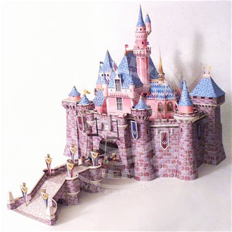 Sleeping Castle Papercraft - what you been crafting neuschwanstein castle