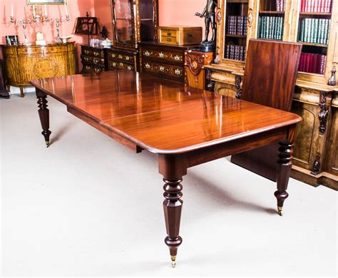 Mahogany Extending Dining Table And Chairs Antique William Iv Mahogany Extending Dining Table And 12 Chairs At 1stdibs