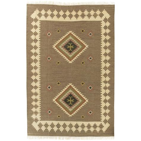 aztec rugs cheap woven aztec flat weave rug 4x6 169047 rugs at sportsman s guide