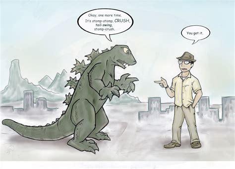 Godzilla Nope Meme - godzilla meme memes