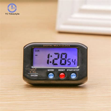 alarm clock portable pocket sized digital electronic simple and stylish travel alarm clocks