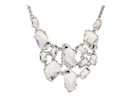 jewelry crystals statement wedding necklace onewed