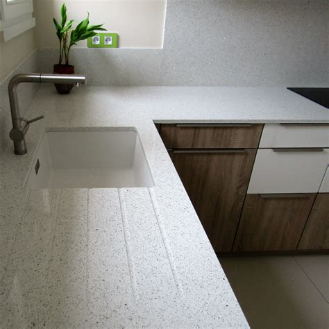 plan comptoir comptoir quartz blanc excellent comptoir cuisine et de