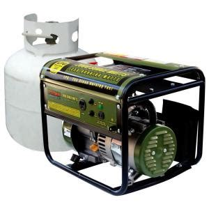 sportsman 2 000 watt clean burning lpg portable propane