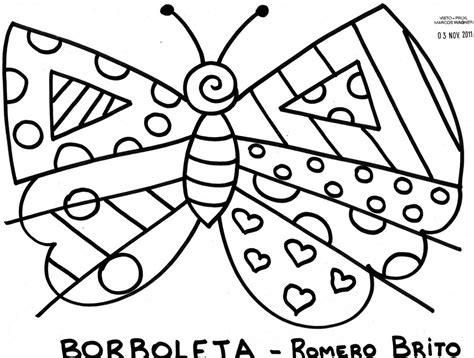 dibujos de romero britto para colorear pinturas do romero britto desenhos para imprimir colorir e