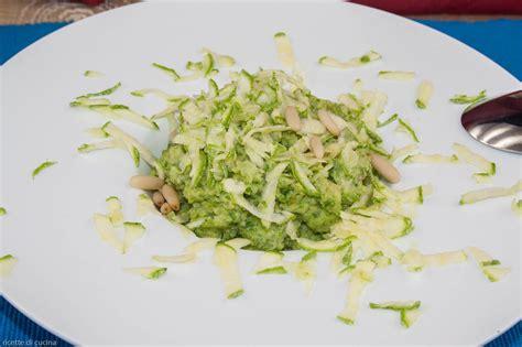 cucina fredda crema fredda di zucchine ricette di cucina
