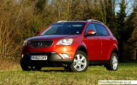 ssangyong korando 2013 ssangyong korando 2013 front front seat driver