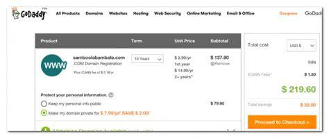 cost  buy  domain  fastwebstart