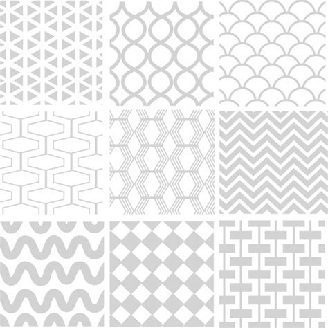 pattern vector ai seamless geometric white pattern free vector in adobe