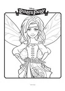 tinkerbell pirate fairy colouring 3