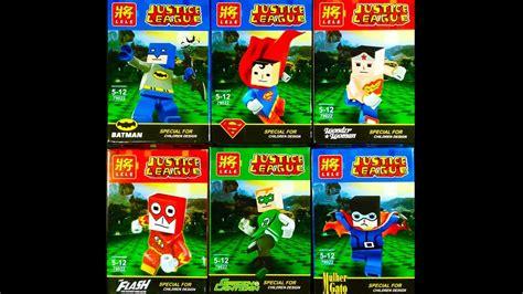 Lego Lele Technology lego minecraft justice league minifigures knock lele